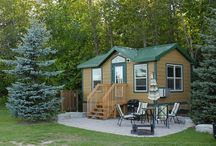 Deluxe Cabins / Your cabin away from home / by Toronto North KOA