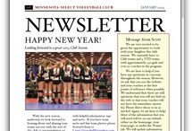 Monthly Newsletter / To keep you informed of everything going on at Minnesota Select Volleyball Club