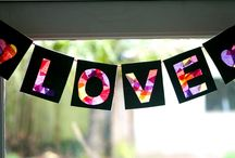 Bunting, Garlands and Wreaths, Oh My!  / by MaryLea @ Pink and Green Mama