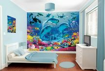Dolphin bedroom for teen