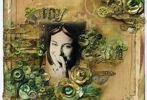 Crafty - Mixed media
