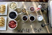 Wedding DIY Food Bars & Stations / Wedding Ideas, reception, food, fun things