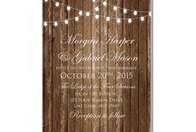 Lights Wedding Invitations