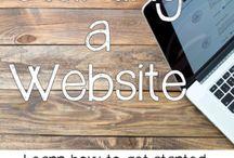 Stating a website-: