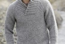 pull homme col châle