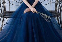 Gaun prom panjang