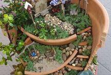 миниатююрный сад