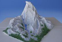 model mountain