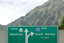 The Hawaiian island of Oahu / Aloha! Mahalo!  / by Anita B.