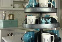 GALVANIZED FARMHOUSE GOODNESS / Galvanized products to give your home the farmhouse, vintage, cottage or industrial style