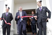Official Launch / On Friday 10th July, Guto Bebb Member of Parliament for Aberconwy officially opened The Llandudno Bay Hotel.
