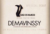 Paris debut / it's official, Paris debut at showroom Demavinssy, 14 Rue de Castiglione