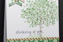 Sheltering tree stampinup cards