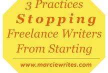 Freelance Writing / Articles I've written on freelance writing.