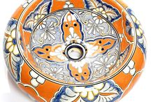 Mexican Hand-Painted Bathroom Sinks