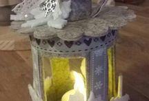 lanterne di feltro