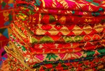 PHULKARI / The word phul means flower and kari means craft, thus its name, literally means floral work or floral craft