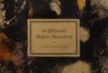 """Harland Miller: """"In dreams begin monsters"""" /  Coetáneo de la generación de los Young British Artists, Harland Miller reintepreta en esta exposición las portadas originales de los libros Penguin, añadiendo títulos irónicos inventados por él, resaltando las contradicciones asociadas con el amor."""