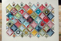 Folding paper art / Art ideas
