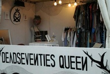 deadseventies booth @jak cloth summer fest'12