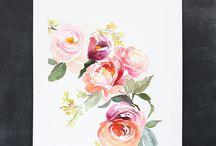 stampe di fiori