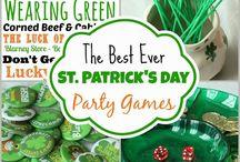 St. Patricks Day: Recipes, Decor, Crafts / Everything St. Patrick's Day - recipes, decor, crafts and more!