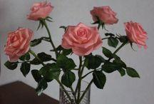 Розы из полимерной глины / Розы из полимерной глины