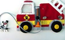 pompier feutrine