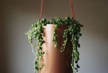 Koper hangers / Presentatie items voor hangdecoratie / koperen reageerbuis