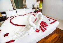BEACH LOVE and ROMANCE  / Let us help you create a memorable experience for you and your love one, either for your honeymoon, anniversary or vowel renewal or why not a special setting to propose to your sweetheart.