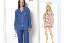 Sewing Patterns: Women's Clothing / Pajamas, Suits, Skirts, Shirts, Dresses, Etc.