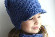 детские шапки крючком