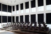 Mørklægning / Fischers mørklægningssystemer har lang levetid. Vi leverer mørklægning til store byggerier og det lille soveværelse.