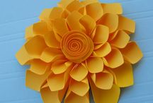 Flowers paper/material