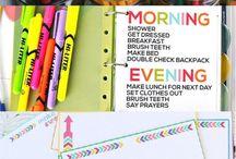 Organizing Rentreé - Back to school