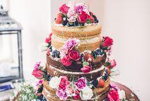 Retro Wedding Cakes