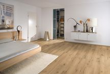 Our Belvedere laminate flooring / A choice of two realistic oak effect decors