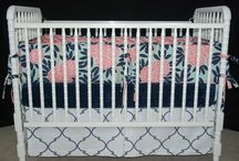 Navy and Pink Nursery / by Kara Flamingo