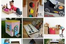 Cardboard crafts / cardboard diy