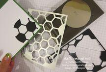 hexagon hive stampin up