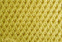 Textured Knitting Stitches