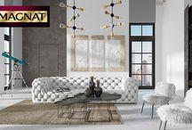 Dekoracje ścian z tynkami ozdobnymi MAGNAT / Nowoczesne tynki ozdobne MAGNAT Style pozwalają uzyskać niepowtarzalne dekoracje ścienne. Zainspiruj się i poznaj wszystkie systemy dekoracyjne MAGNAT Style