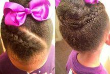 curly kinky hair