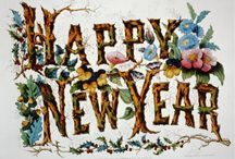 New Year Celebrations / Time for celebrations, resolutions and turning the calendar pages over. Happy New Year!