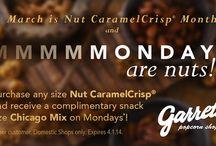 Nut CaramelCrisp Month 2014 / by Garrett Popcorn Shops