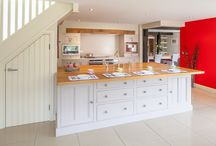Cool Country Kitchen / The owners of this modern house wanted a fresh take on the classic 'country' kitchen to infuse depth and character into their home. Inspired by a design in our showroom, we created a quaint but quirky kitchen that seamlessly blends contemporary chic with classic charm.