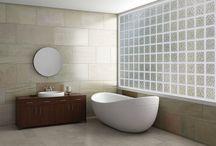 Hy-Lite Acrylic Block Windows / #remodel #privacy #bathroom #masterbath #windows #homeremodel #replacement #acrylicblock #decorativeglass