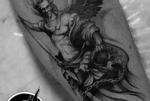 L.A.W. tattoo