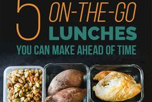 Lunch ideas for university / Take-away food