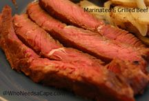 Grilling Recipes / Delicious recipes for grilling indoors and outdoors. A Meat lovers delight - with some veggies thrown in for good measure